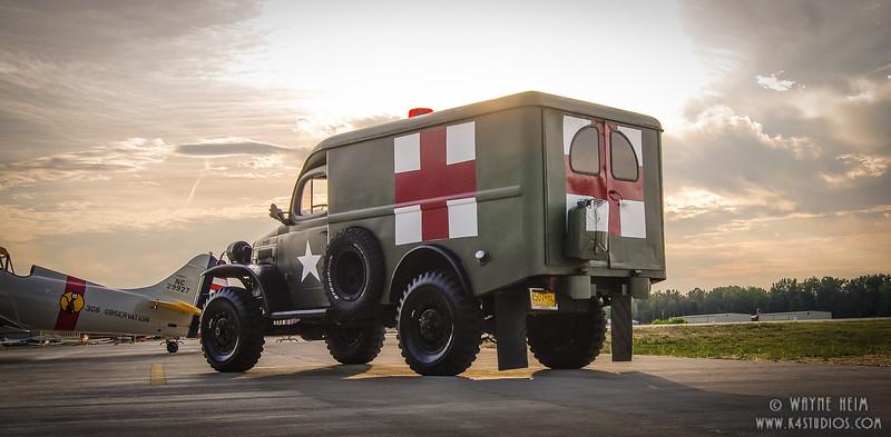 Ambulance - Photography by Wayne Heim