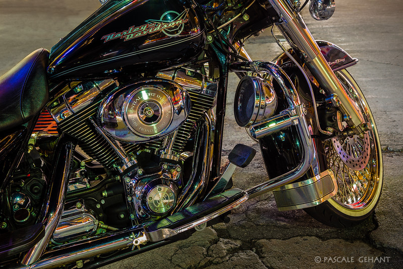 Harley Davidson close-up