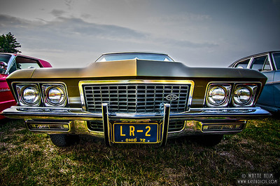 Gold Show Car - Photography by Wayne Heim