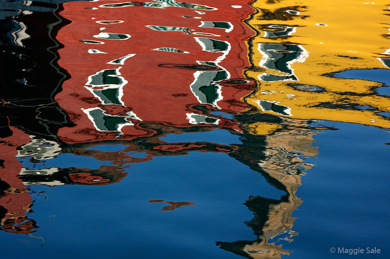 Burano Reflection 2