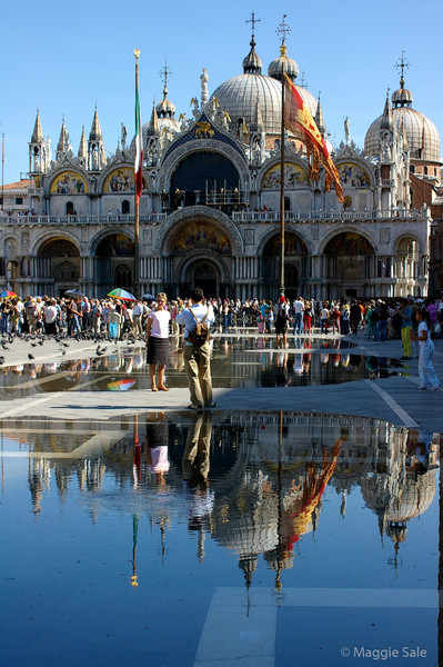 St  Mark's Basilica Reflection