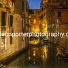 Venice canal – an evening walk around Venice, Italy.
