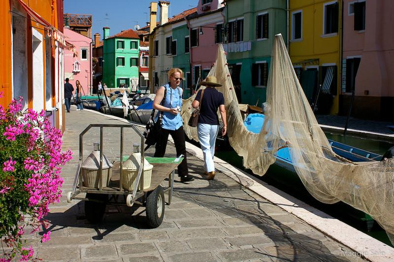 Nets in Burano