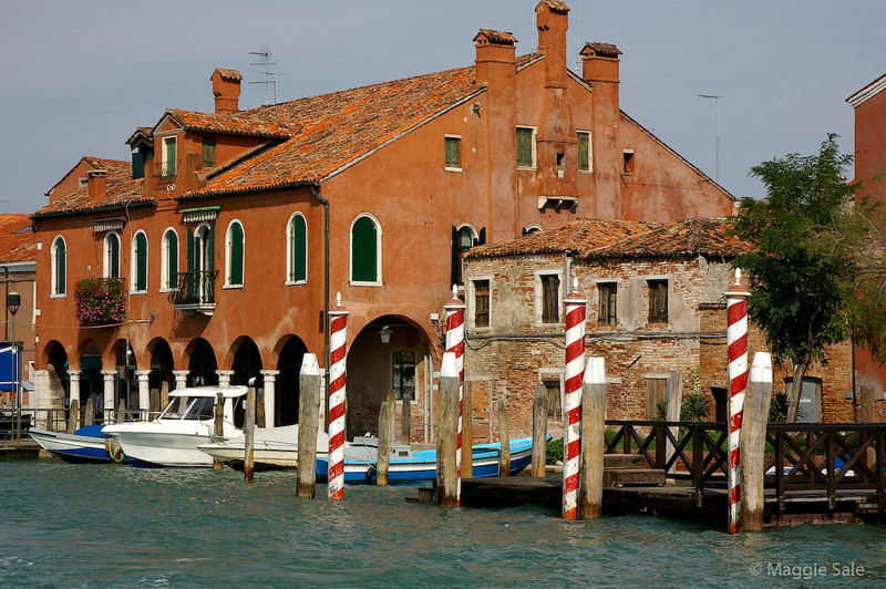 Murano from Canal