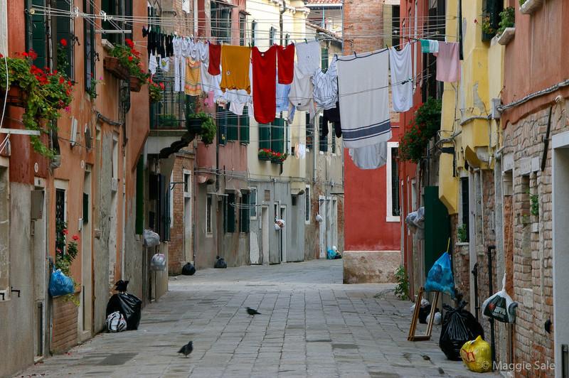 Washing in Street