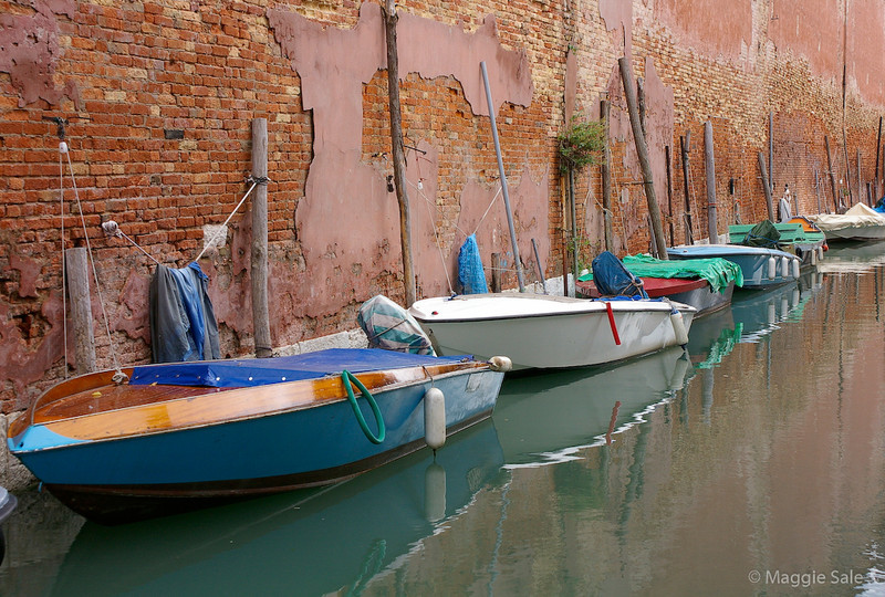 Boats by the Arsenale