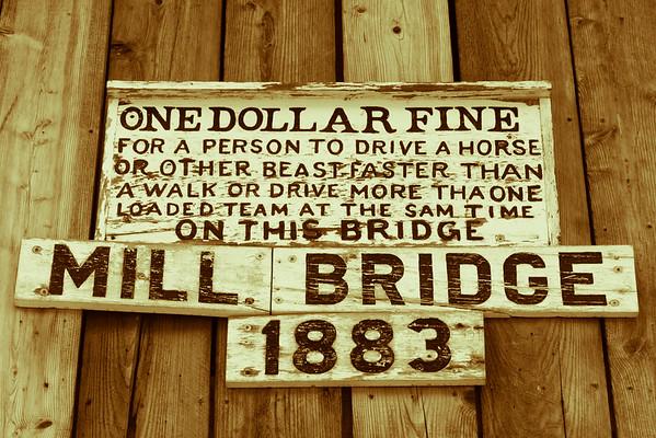 Mill Covered Bridge