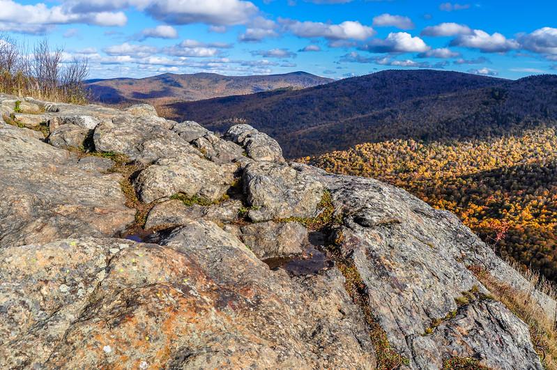 Long Trail Brandon Gap Rocky Vista