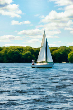Minnesota Sailboats 010 | Wall Art Resource