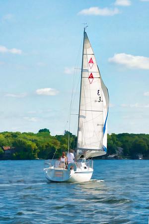 Minnesota Sailboats 012 | Wall Art Resource