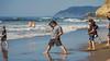 Hans'(Mikee) Martial Arts Beach Training (September 14, 2014)