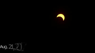 99.4 Percent Partial Solar Eclipse in Forest Grove, Oregon (August 21, 2017)