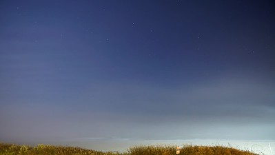 Star Trails at 43 minutes (before midnight overlooking the beach)