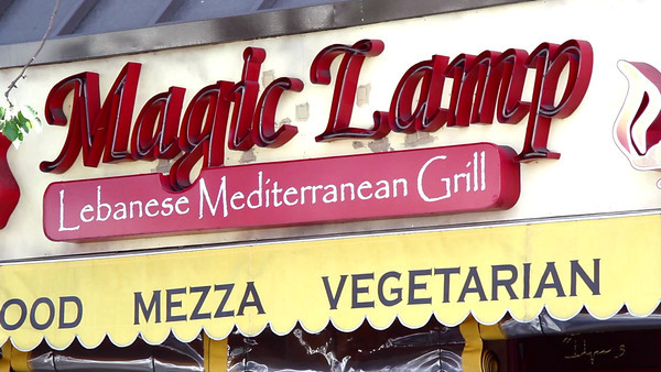 Magic Lamp: Recipe for a Vegan Salad: This piece create for Magic Lamp Restaurant: http://www.magiclampgrill.com/ was designed to highlight Bruno the owner, giving you an in depth feel to the restaurant, the owner, and what they offer, as well as give you something vegan, healthy and easy to make for yourself.
