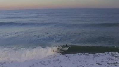 EAST COAST SURFING in 4K