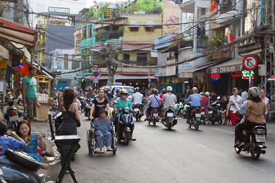 Street in Ho Chi Minh