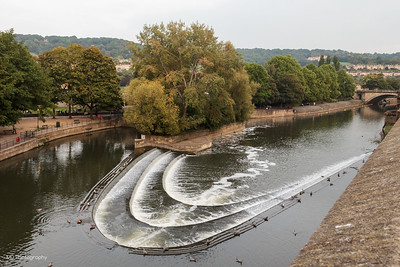 Pulteney Weir and Sluice on River Avon