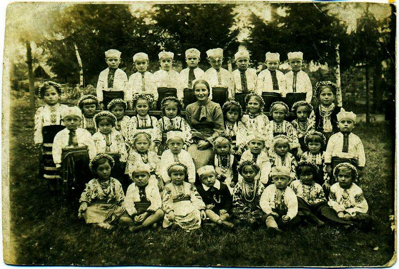 1938. Торське. Дитячий садок.