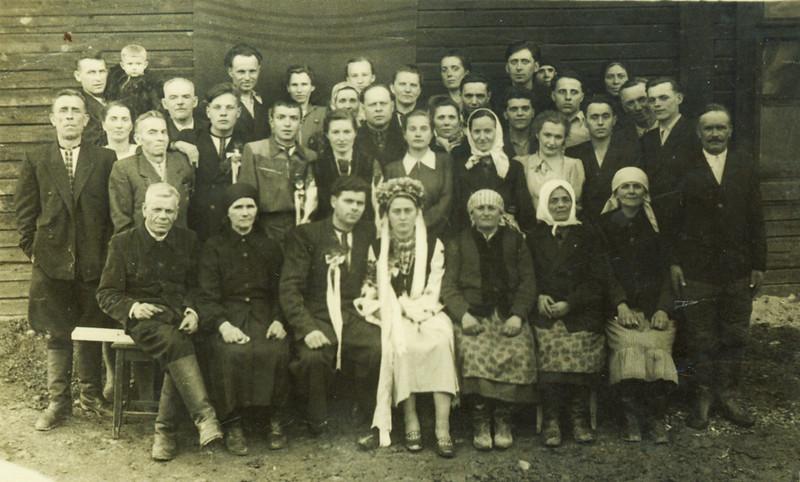 Урал, Весілля Михайла Цепенюка і Василини (?), під час перебування на засланні