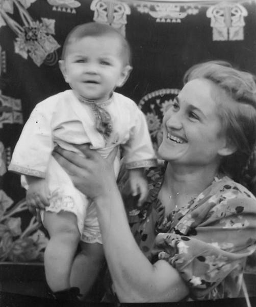 Торське. Марія і син Ігор