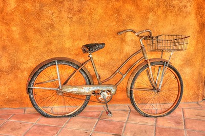 Old Bicycle, Carme Valley CA.