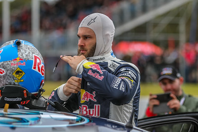 No. 97 Shane van Gisbergen racing for the Red Bull Holden Racing Team