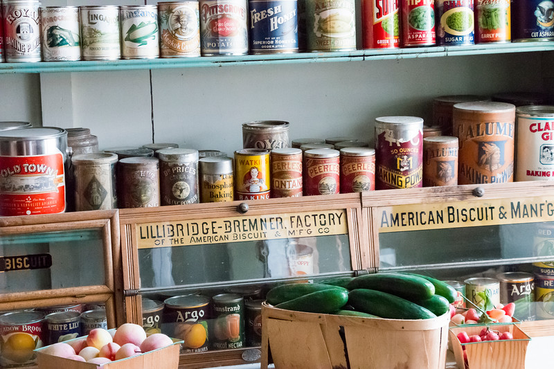 Grocery - S.R. Buford Store (detail)