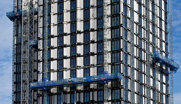 George St, Croydon - Vision, modular towers