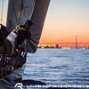 VOR'14-15 Lisbon D1 Arrivals : Leg 7, Newport to Lisbon, arrivals at Tagus River.