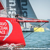 VOR'14-15 Lisbon D10 Pro-Am : Leg 7, Newport to Lisbon, Pro-Am race in Tagus River
