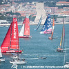 VOR'14-15 Lisbon D11 InPort : Leg 7, Newport to Lisbon, InPort race in Tagus River