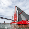 VOR'14-15 Lisbon D12 Start Leg 8 : Leg 8, Lisbon to Lorient, Start of Leg 8 in Tagus River, Lisbon, Portugal