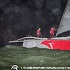 June 19, 2015. Arrivals to the Pitstop in The Hague during Leg 9 to Gothenburg. Dongfeng Race Team, second to arrive.
