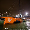 June 19, 2015. Arrivals to the Pitstop in The Hague during Leg 9 to Gothenburg. Team Alvimedica in the pontoon.