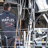 Sun Hung Kai Scallywag at the Plymouth - Saint Malo Race, part of VOR Leg 0, preparation for the Volvo Ocean Race 2017/2018