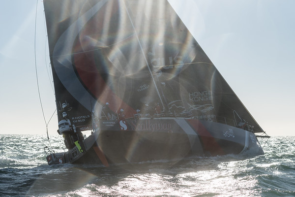 Sun Hung Kai Scallywag in the Leg 2 Lisbon to Cape Town Start, part of the Volvo Ocean Race 2017-18<br /> <br /> © Ricardo Pinto | Sun Hung Kai Scallywag<br /> <br /> 05/11/2017 - Lisboa (POR) - Volvo Ocean Race - SHK Scallywag - Leg 2 Lisbon to Cape Town Start