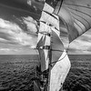 Sailing on board of tall ship Europa, Drake Passage, 2015