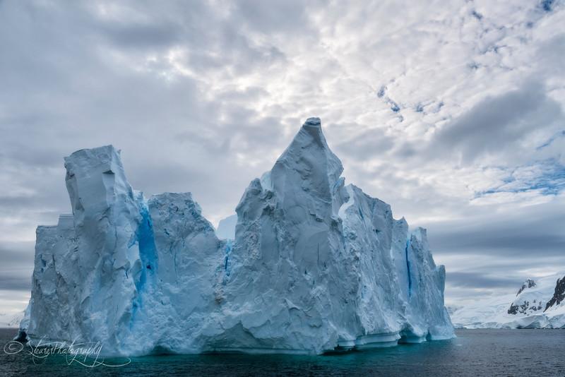 Ice castles, Antarctic peninsula, 2015