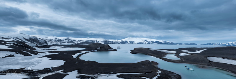 Telephone Bay, Deception Island, 2015