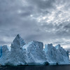 Ice castles, Antarctic peninsula, 2015