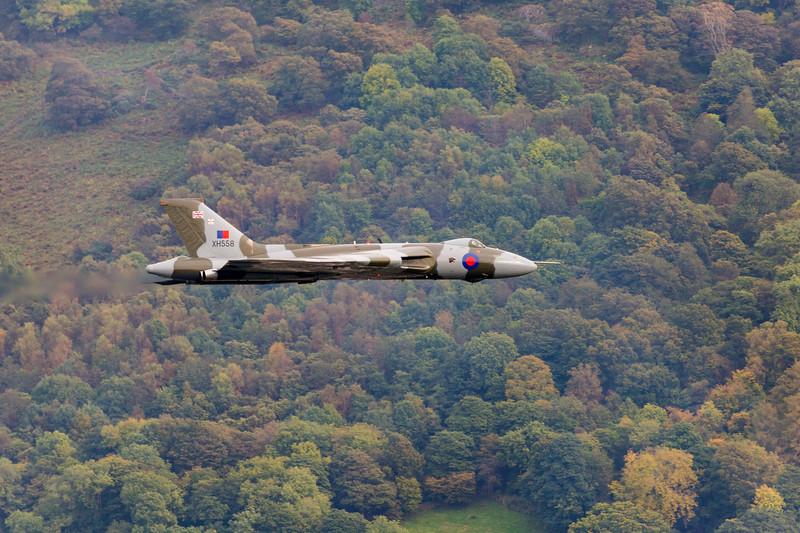 Vulcan Flypast at Ambleside