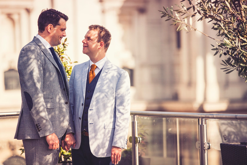 Stuart and Toby are Married!