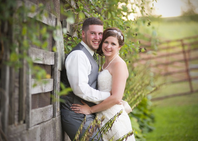 Farm fresh wedding at Gillbrook Farms