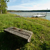 The dock at Allen Lake.  Panasonic DMC-L10 (September 2010).