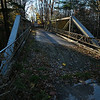 Closed bridge over Wildcat Gully near Tuscarora.  Nikon D5000 (October 2010).