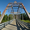 The rehabilitated Caneadea Bridge.  Nikon D5000 (July 2010).