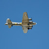 """Famous B-17 """"Memphis Belle"""" flies overhead at South Avon.  Nikon D5000 (June 2010)."""