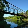 The Lattice Bridge (closed) between Fillmore and Houghton.  Nikon D5000 (July 2010).