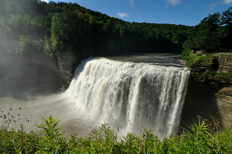 The Middle Falls.