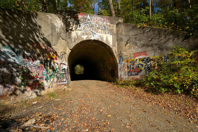 The underpass at Mudville.  Nikon D3100 (October 2010).